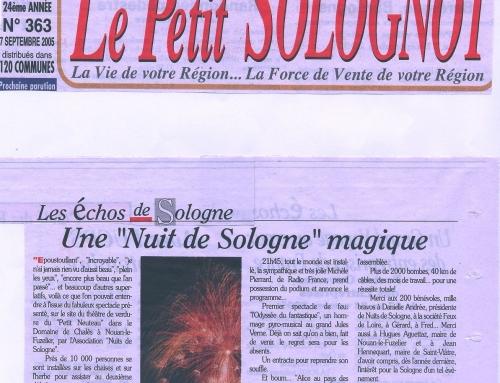 """UNE """"NUIT DE SOLOGNE"""" MAGIQUE"""