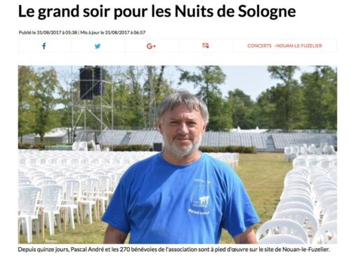 LE GRAND SOIR POUR LES NUITS DE SOLOGNE