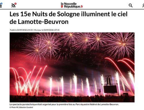 LES 15e NUITS DE SOLOGNE ILLUMINENT LE CIEL DE LAMOTTE-BEUVRON